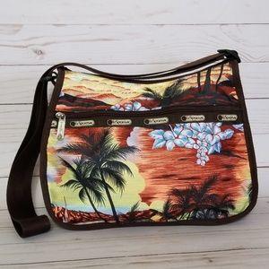 Lesportsac | Tropical Print Classic Hobo Bag